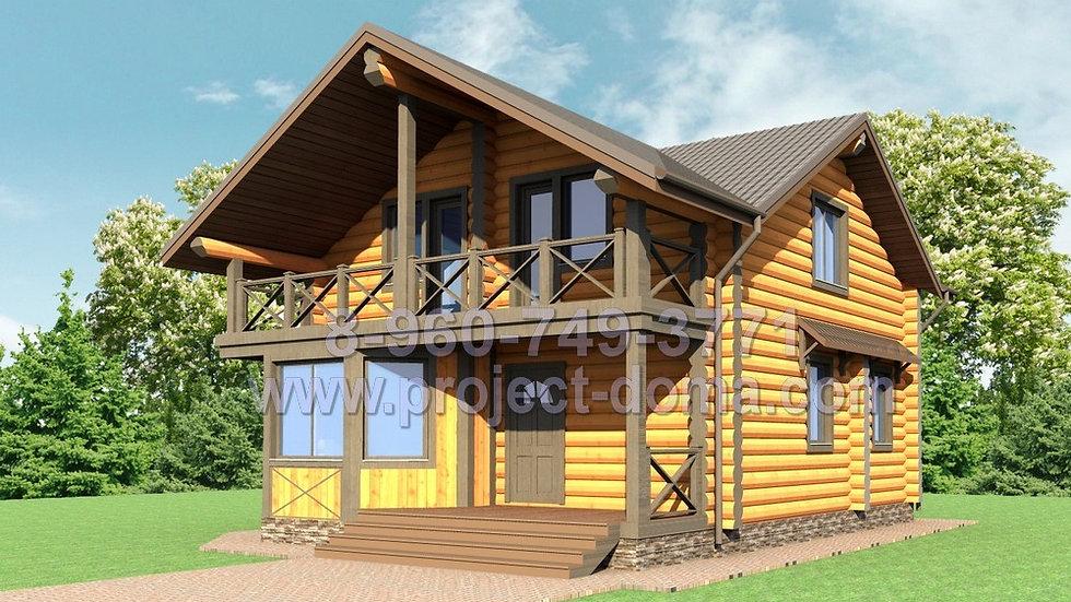 Д-138 Деревянный жилой дом