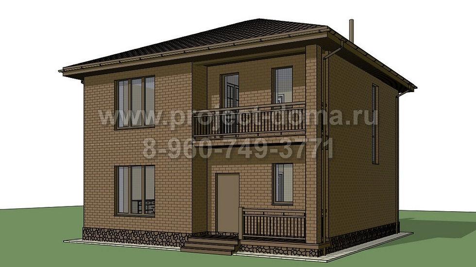 ГП-147 Жилой дом из газобетона 147м2