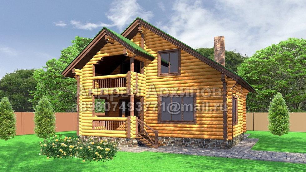 Д-121 Деревянный жилой дом