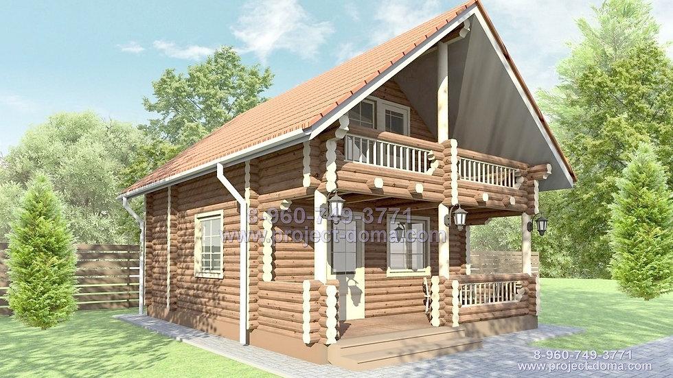 Д-0701 Деревянный дом/дача