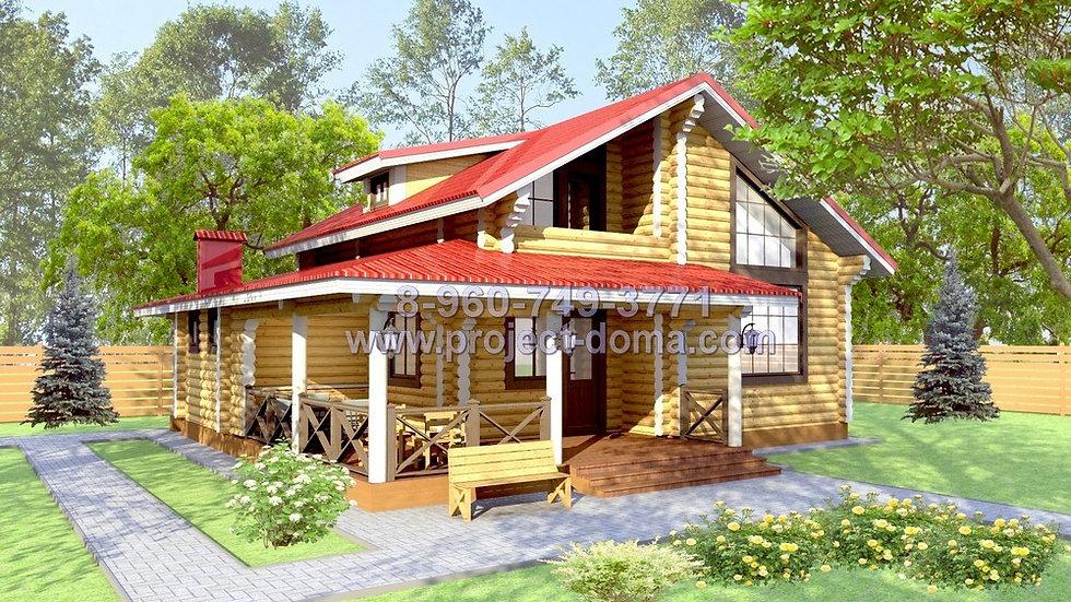 Д-110 Деревянный жилой дом