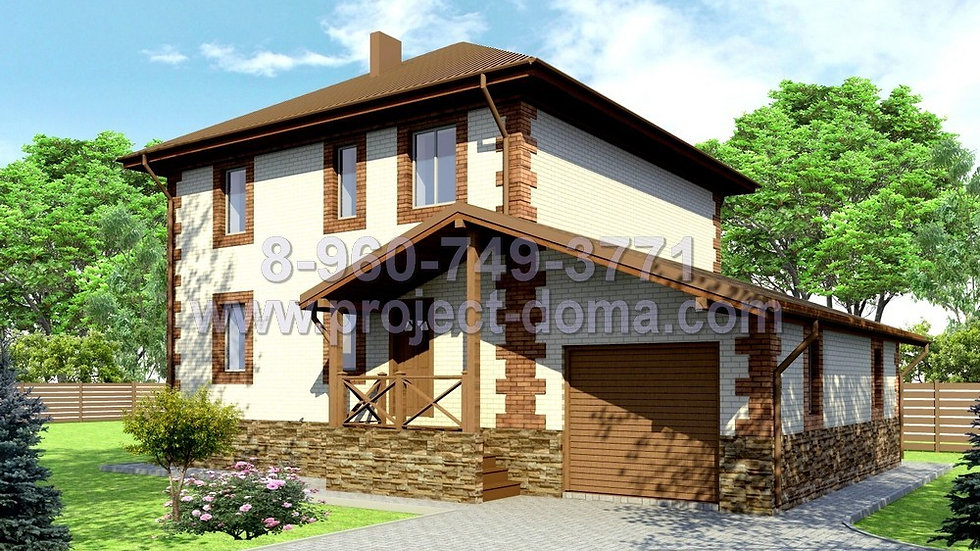Д-158 Двухэтажный жилой дом
