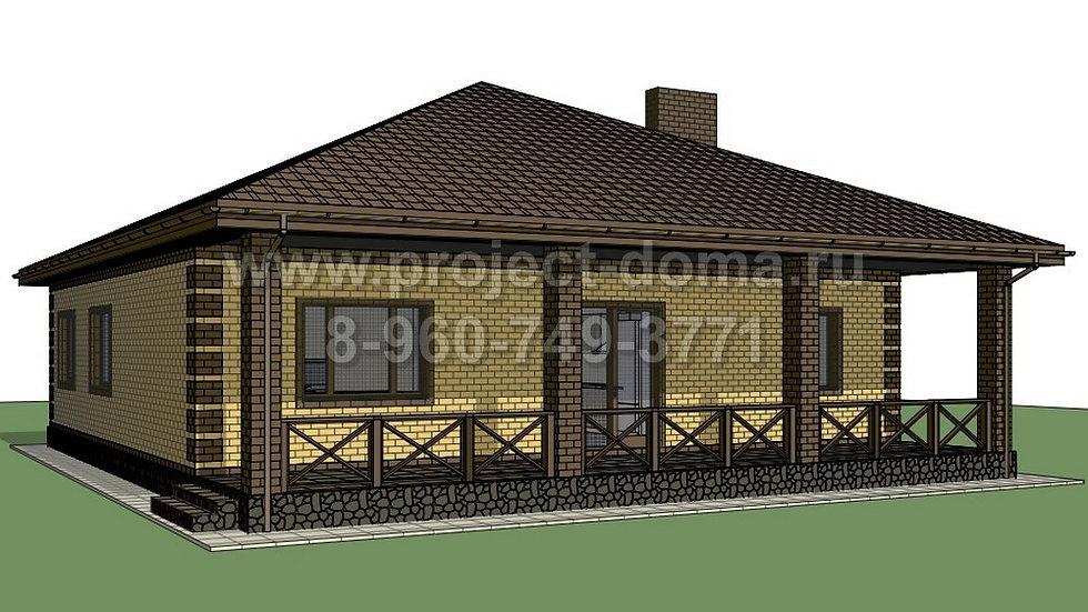 ГП-160 Жилой дом из газобетона 160м2