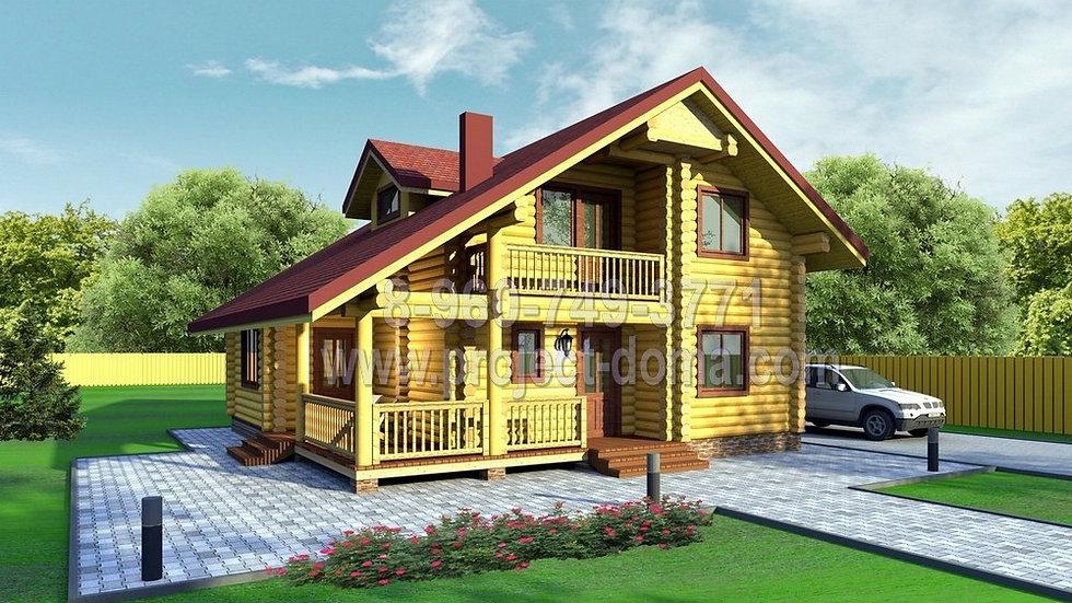 Д-148 Каркасный жилой дом