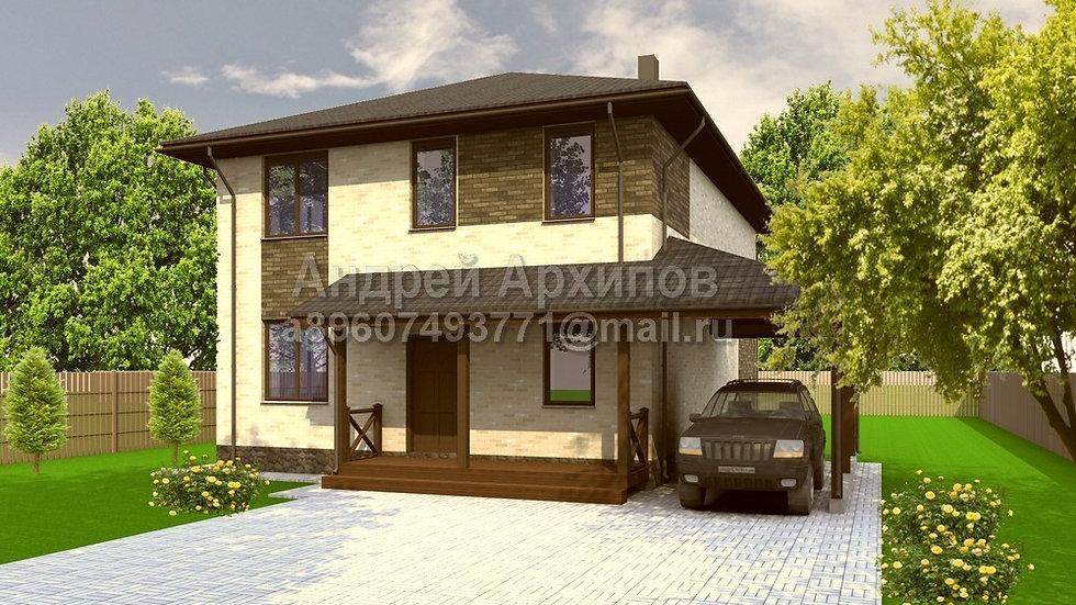 Д-170 Двухэтажный жилой дом