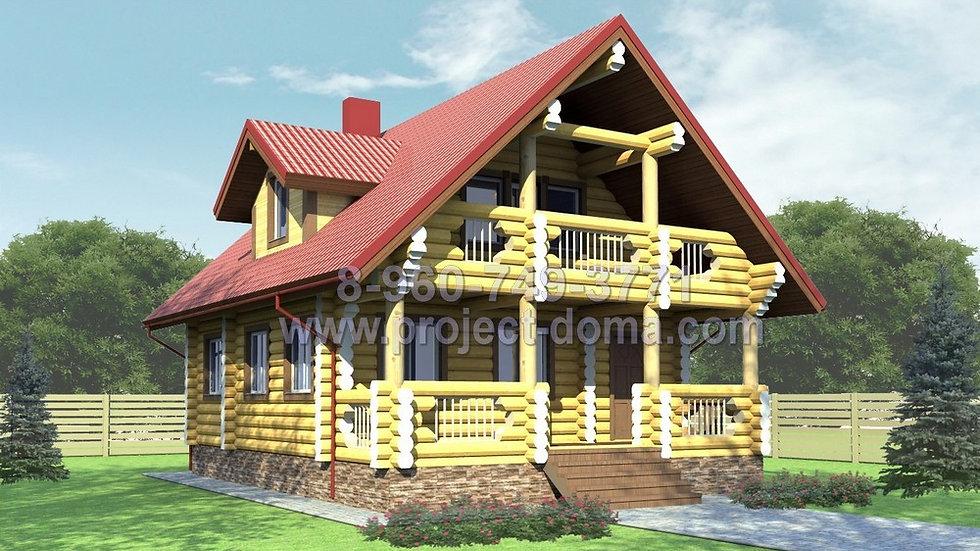 Д-120 Деревянный жилой дом