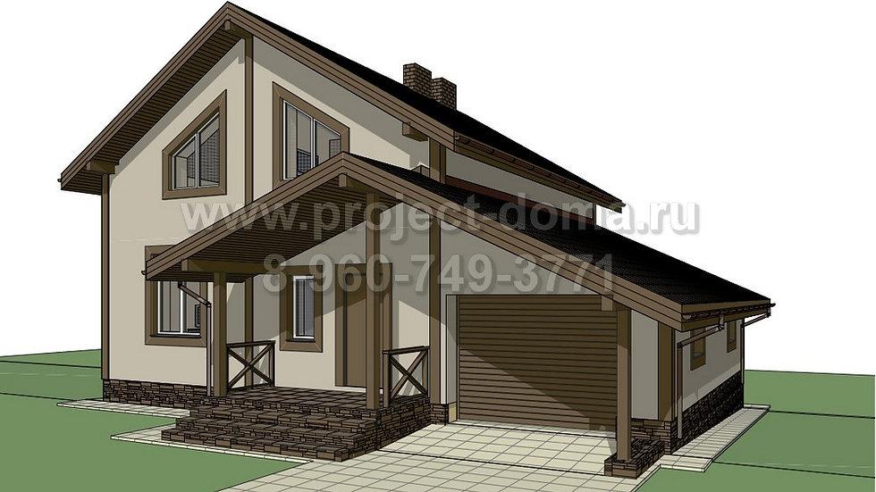 ГП-155 Жилой дом из кирпича 155м2