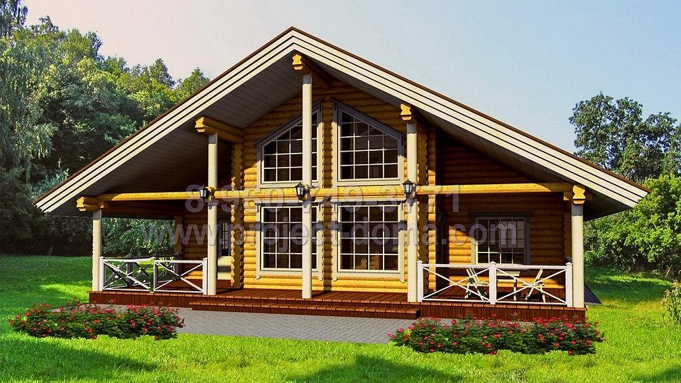 Д-195 Деревянный жилой дом