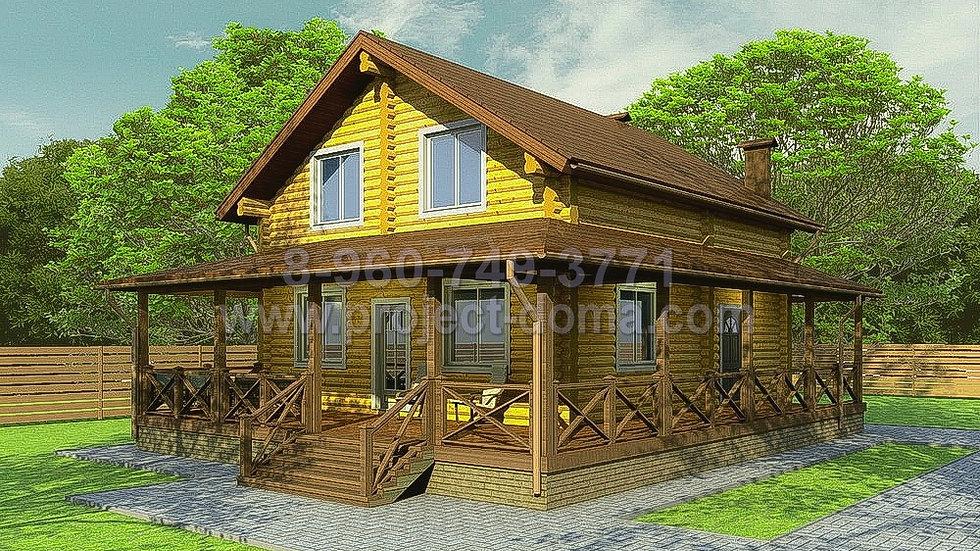 Д-171 Деревянный жилой дом