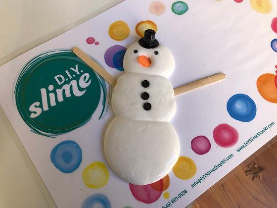 D.I.Y. Snowman Fluffy Slime Kit
