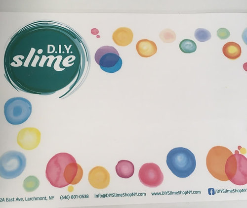 D.I.Y. Slime Placemat
