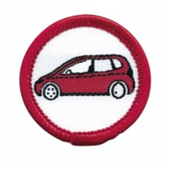 Mini Road Rider Badge