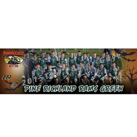 "Pine Richland Green - 6""x18"" Poster"