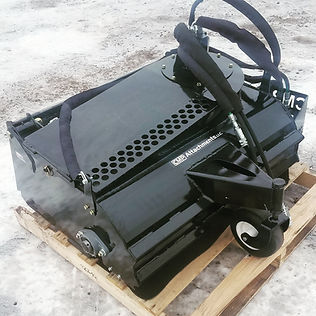 mini skid sweeper with dust collector.jp