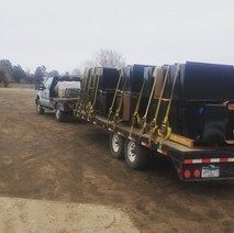 Custom Fuel Tanks out for Delivery