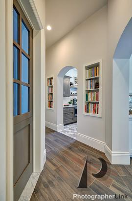 Danielle Petkus Design -  The Senda Roble project Hall Library