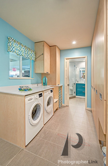 NAR Fine Carpentry, Inc.  The Surita project Laundry Room