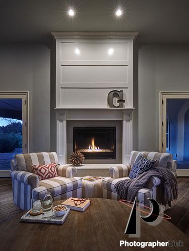 Danielle Petkus Design -  The Senda Roble project Living Room design