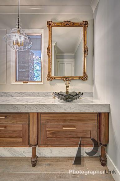 NAR Fine Carpentry, Inc. Fritz-Skeen project Bathroom Vanity