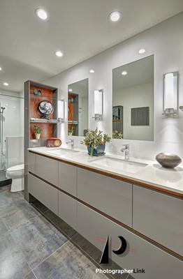 NAR Fine Carpentry, Inc.  The Bell-Francke Project Bathroom