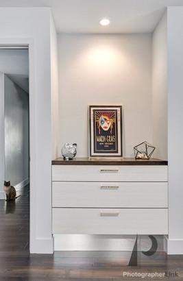 NAR Fine Carpentry, Inc. Keilar-Timmerman project built-in dresser