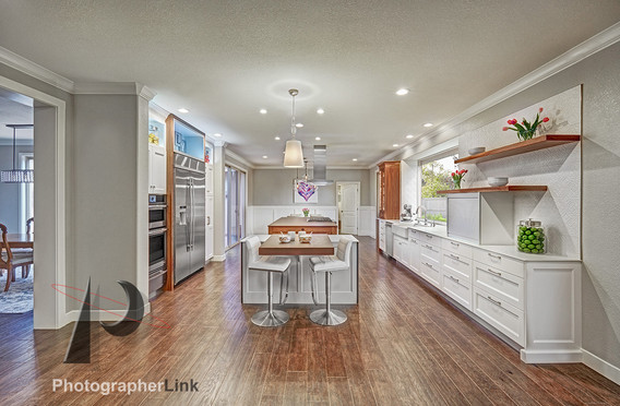 NAR Fine Carpentry, Inc. The Avil Project Kitchen view 1