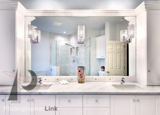 Mercado Construction  Calder-Doheney Project Bathroom Vanity
