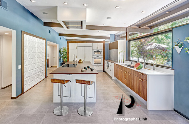 NAR Fine Carpentry, Inc.  The Bell-Francke Project Kitchen view 2