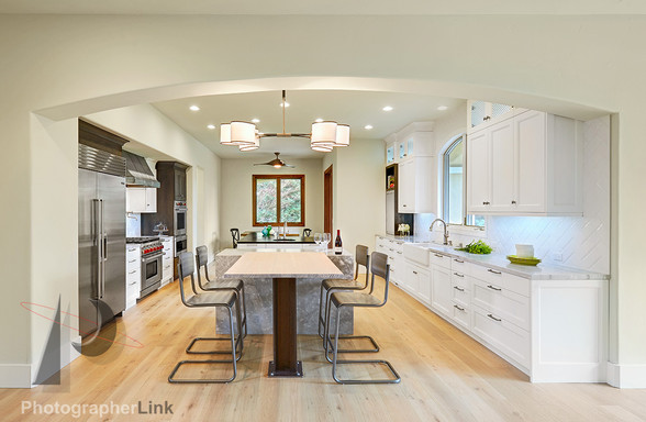 NAR Fine Carpentry, Inc. The Meridth project Kitchen 2