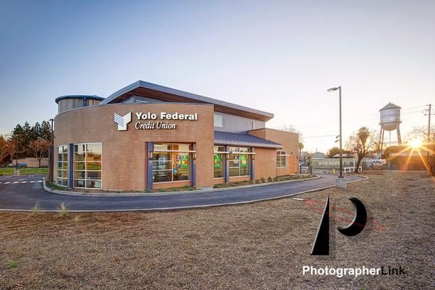 Yolo Federal Credit Union, Winters, California  Architecture and Design 1