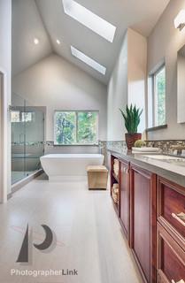 FaGalde Design Black Powder Project - Bathroom