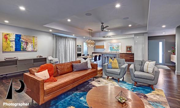 NAR Fine Carpentry, Inc. Harley project Livingroom 1
