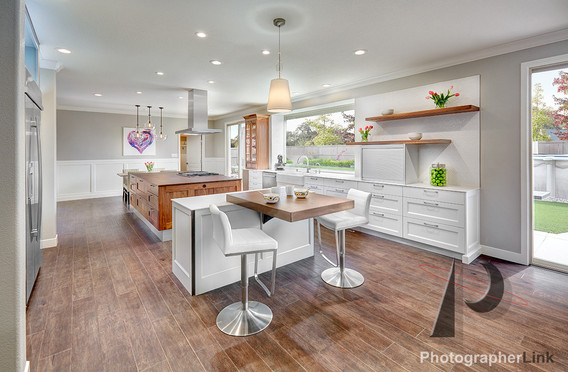 NAR Fine Carpentry, Inc. The Avil Project Kitchen view 2