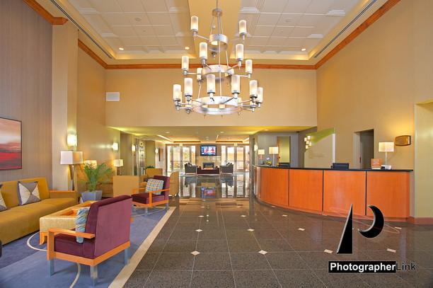 Holiday Inn reception