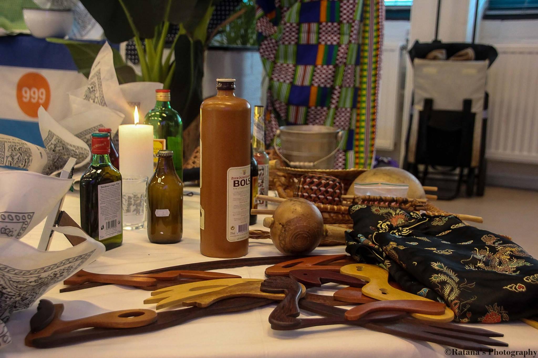 Aankleding tafel Gi Grani