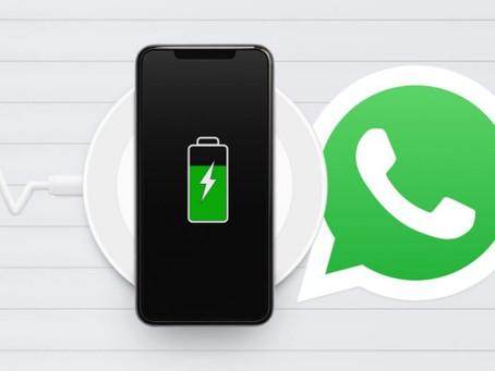 WhatsApp: 3 ajustes que harán que tu batería dure más tiempo