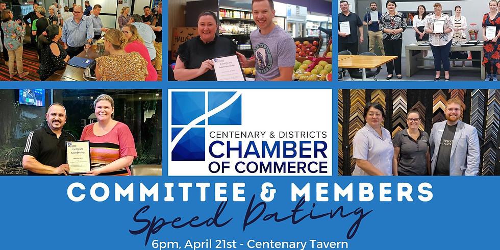 Committee & Members Speed Dating