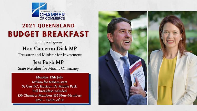 QLD State Budget Breakfast