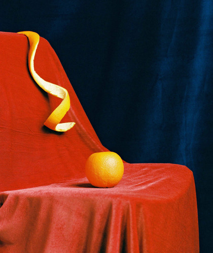 'Still Life of an Orange'