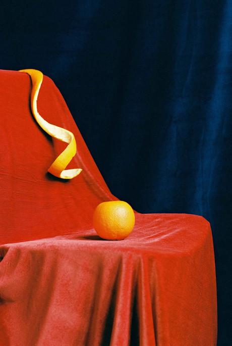 Orange on a Pedestal