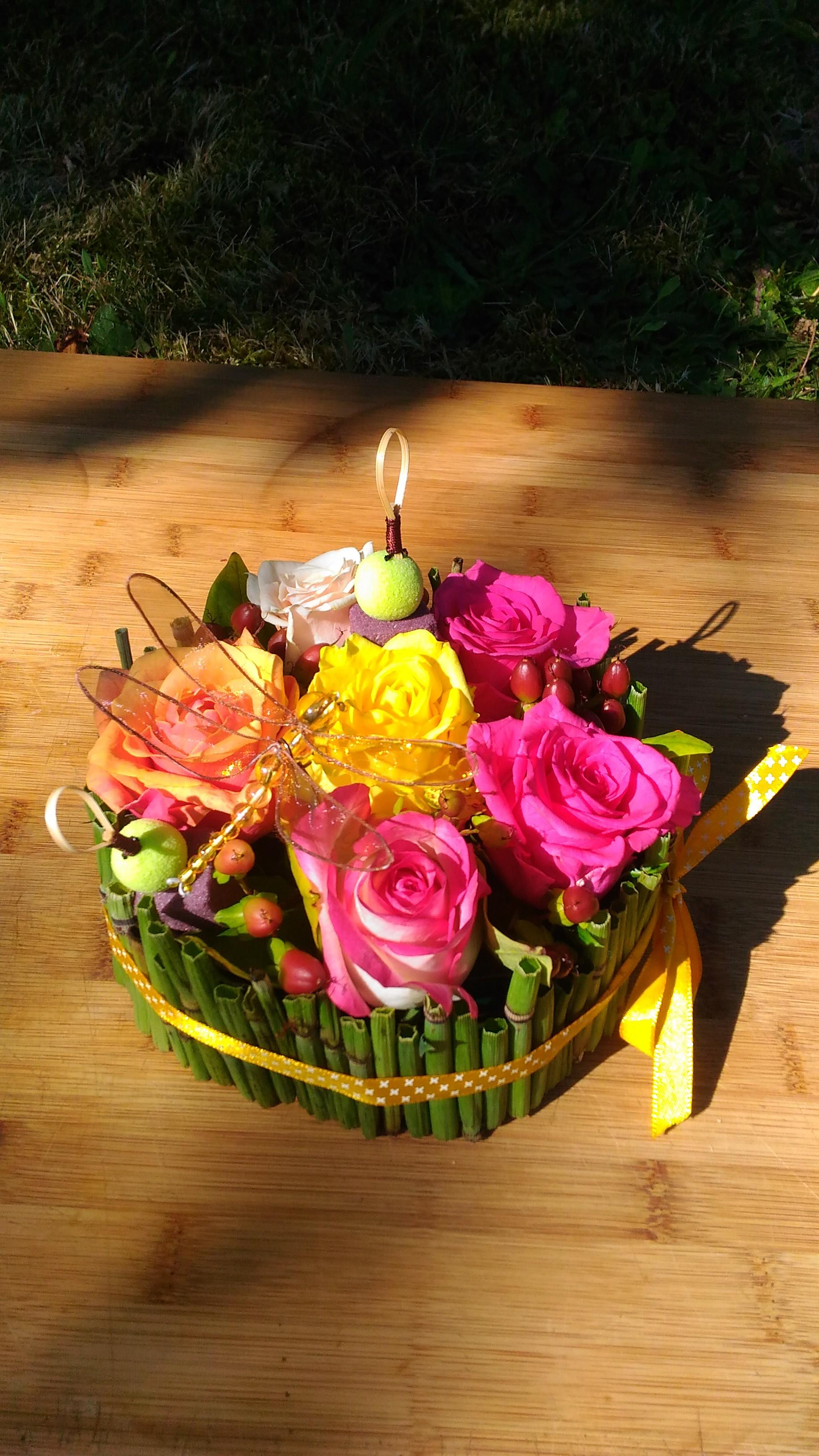 Camaieu de roses