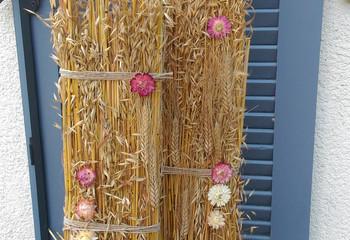 Décoration blé