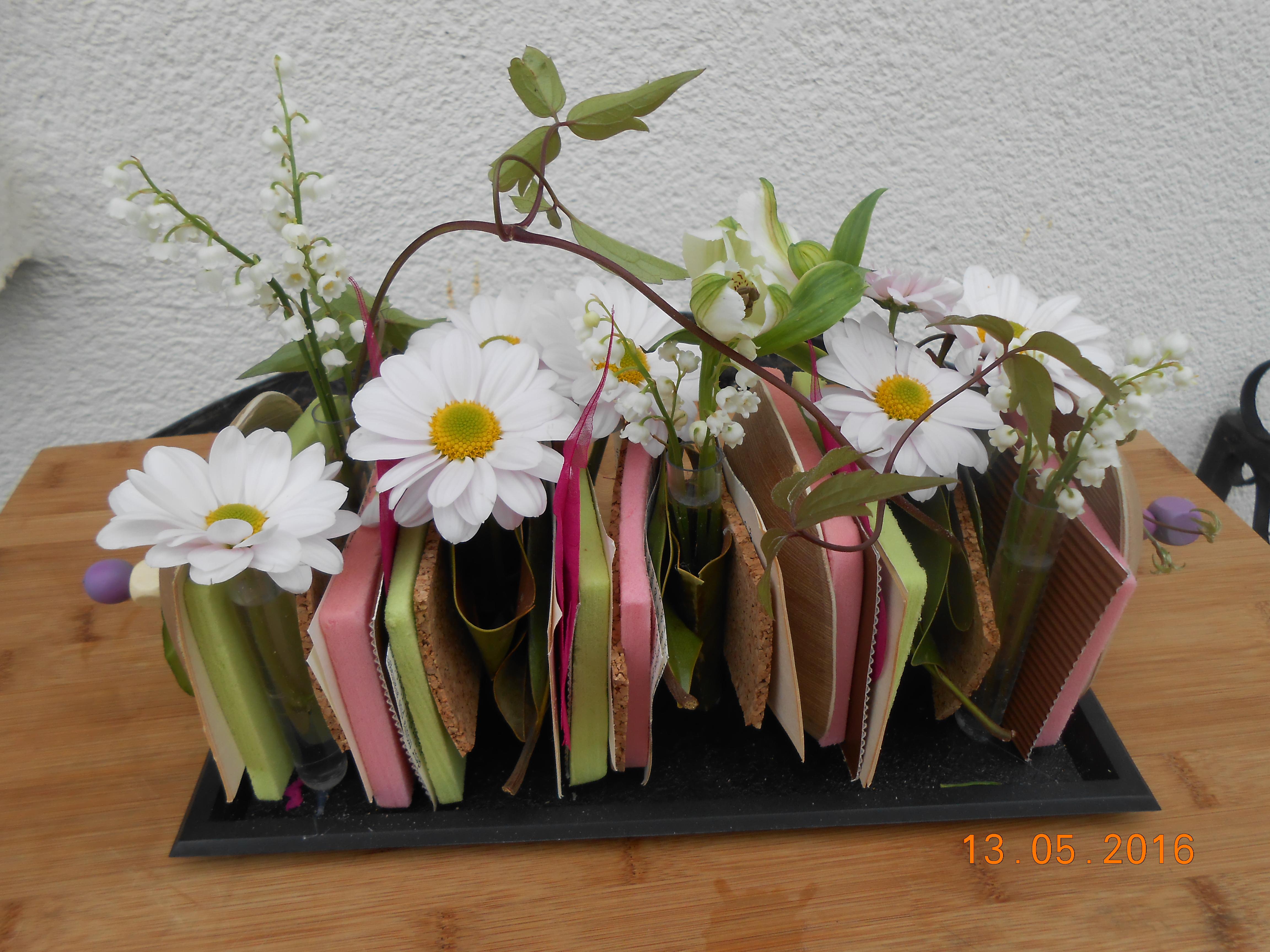 sandwich de fleurs Atelier floral