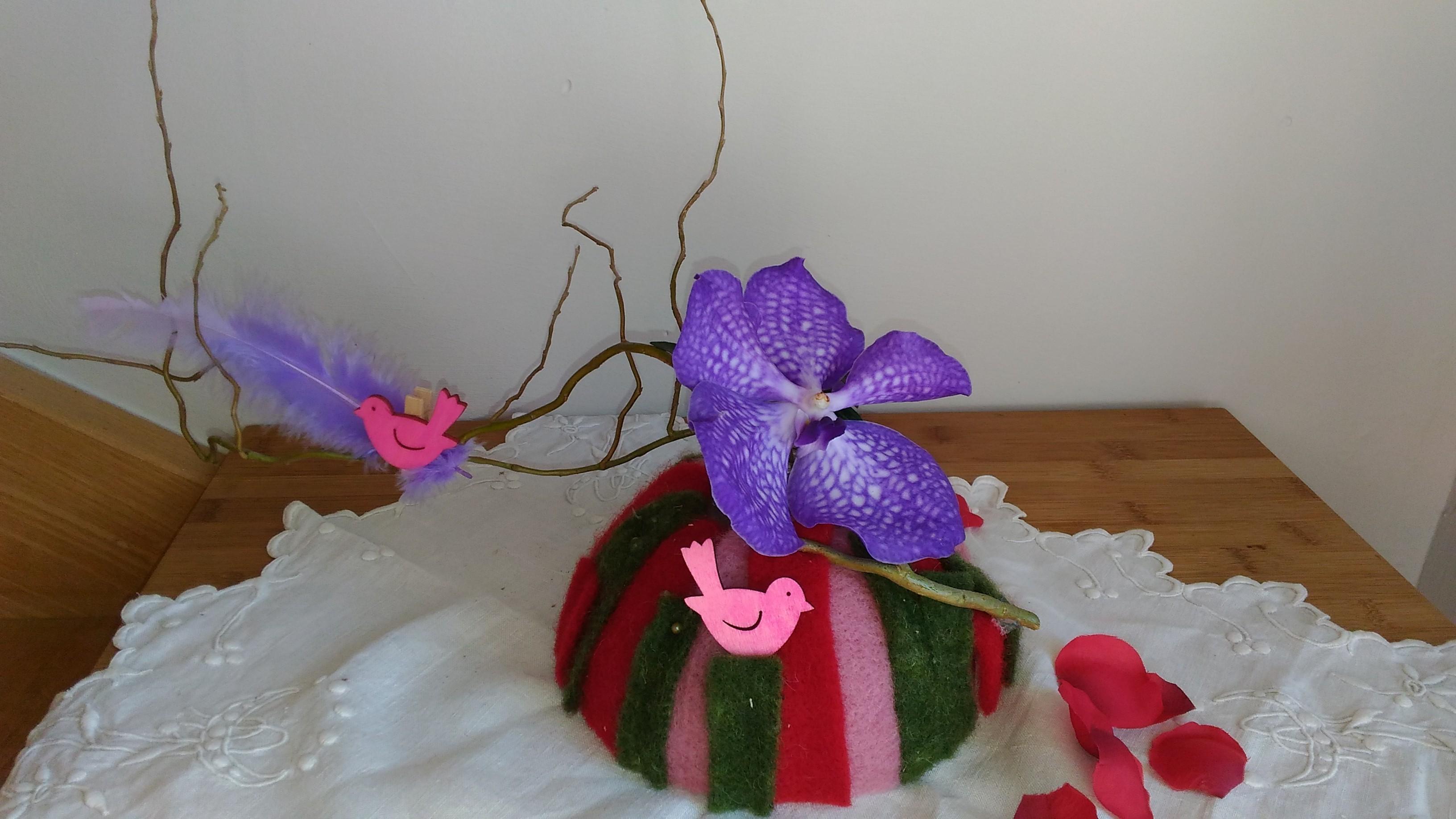 Dôme d'orchidée