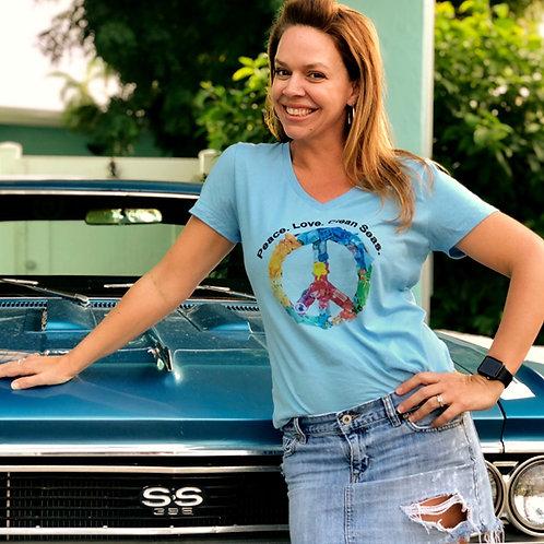 Peace. Love. Clean Seas. T-shirt