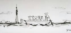 P:矢切の渡し舟
