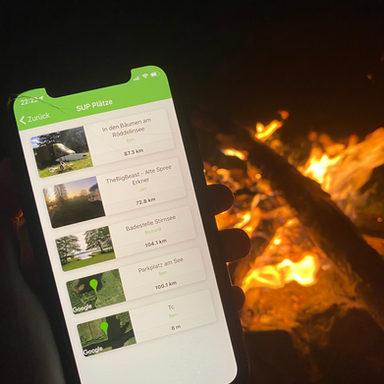 StayFree spots lists