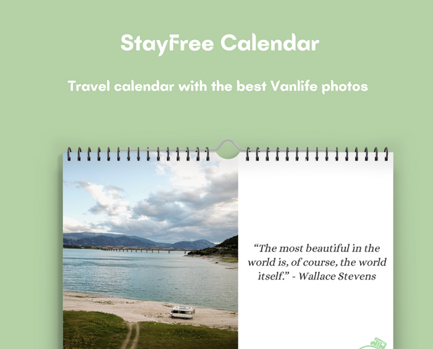 StayFree calendar