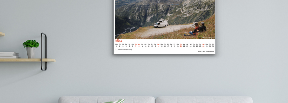 StayFree calendar