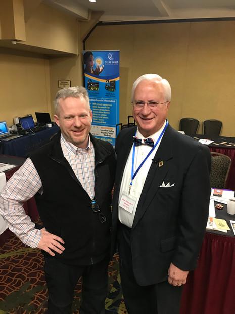 Dr. Gibson & Tony Seymour